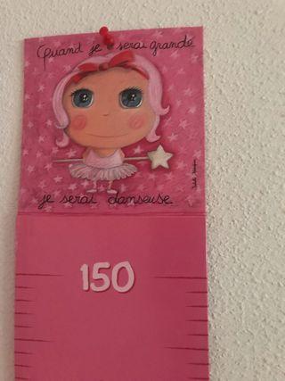 Medidor de altura niñas