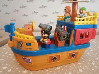 barco pirata mega bloks