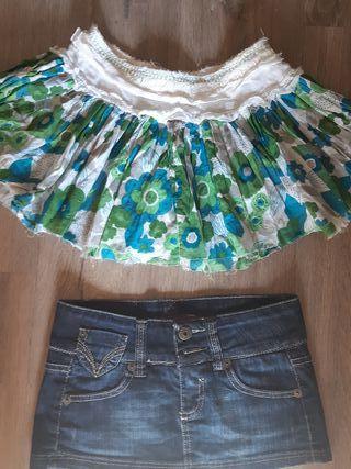 2x 1 euro !!!! Minifaldas Bershka talla 32