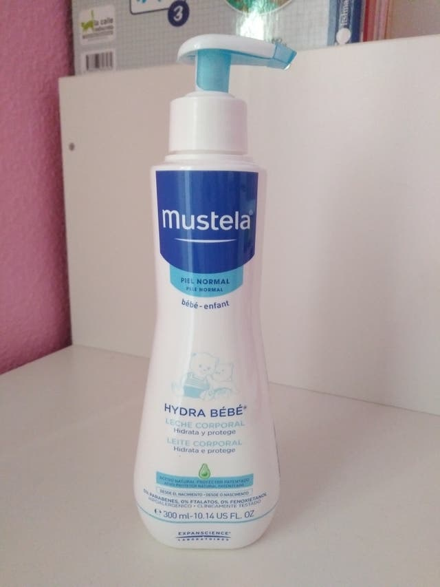 mustela leche corporal precio
