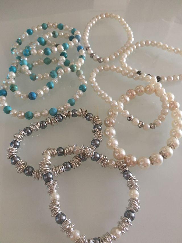Pulseras perla