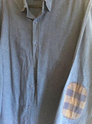Camisa hombre con coderas (T.M)