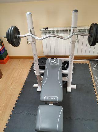 Equipo pesas