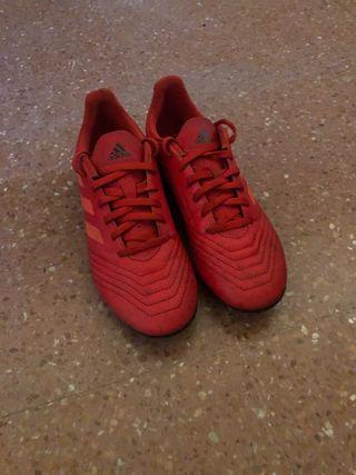 Zapatillas de fútbol Adidas 36,5