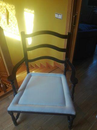 preciosas sillas coloniales