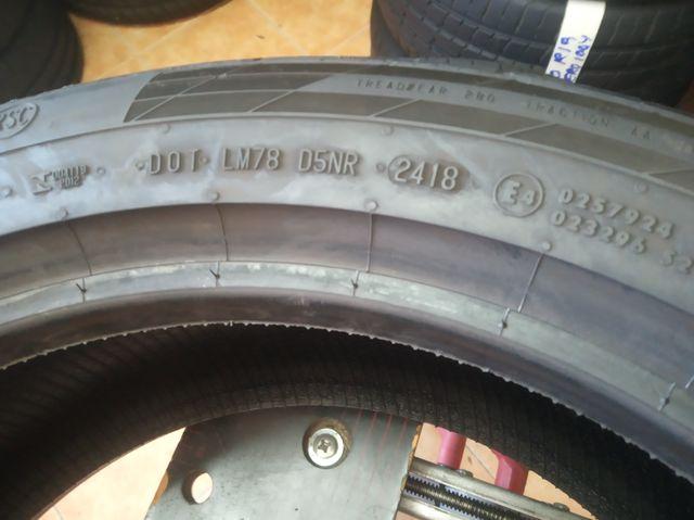 2 neumáticos 225/ 50 R18 95W Continental Rf 80%
