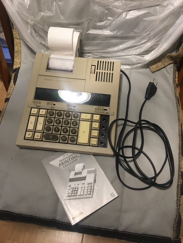 Calculadora electronica olivetti