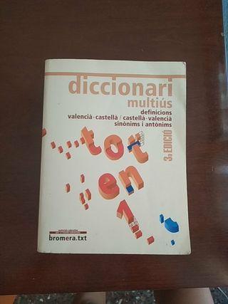 diccionari multiús