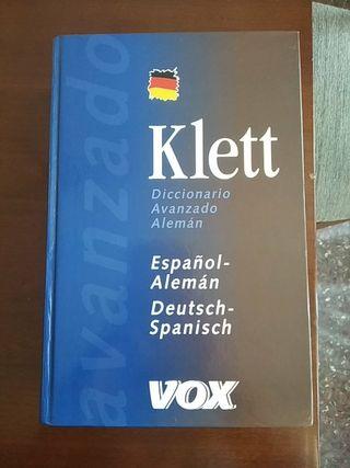diccionario avanzado en alemán