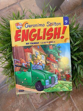 Libro de Geronimo Stilton en Ingles