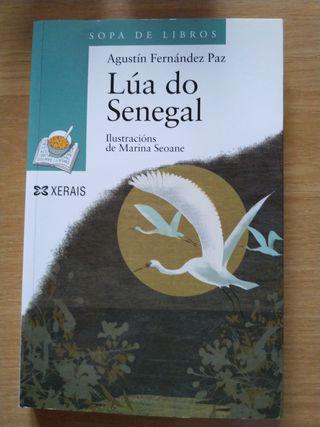 Libro infantil «Lúa do Senegal»