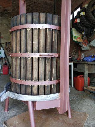 llagar prensa para sidra o vino