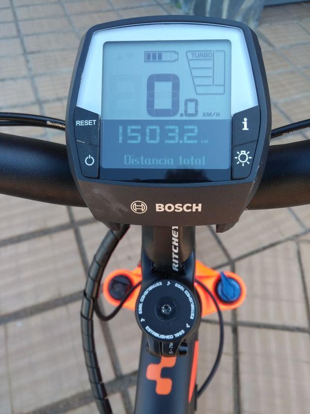 Bicicleta MTB electrica