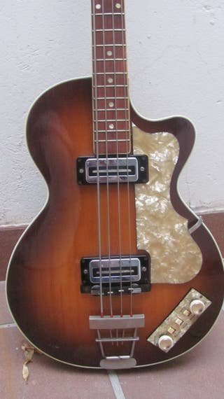 1967 Höfner Club 500/2 Bass bajo
