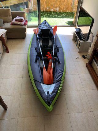 Kayak Hinchable + Remos + Inflador