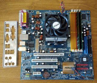 placa base AM3-2,70GHZ-8Gb ram