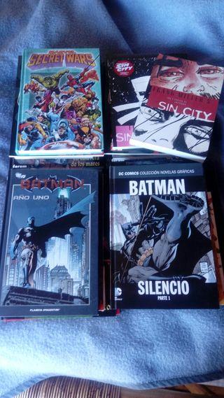 vendo comics conan batman marvel cin city