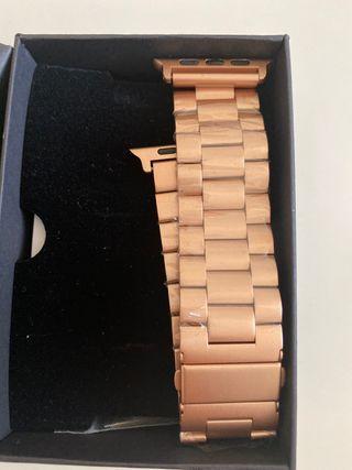 APPLE WATCH pulsera de eslabones en oro
