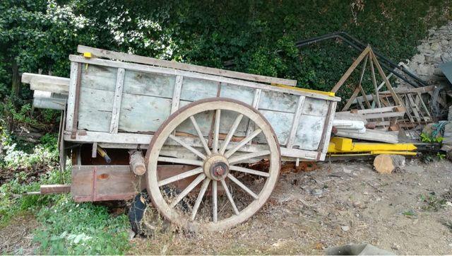 Carro de bueyes Año 1930