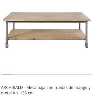 Mesa de centro Archibald Maisons du Monde