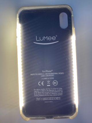IPHONE FUNDA Lumee phone case + ring iPhone XS MAX