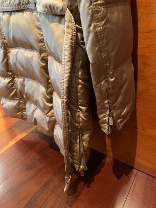 Abrigo plumas Zara