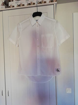 camisa chica calvin klein talla S