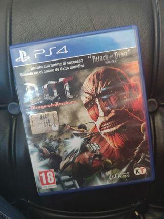 Ataque a los titanes (PS4)