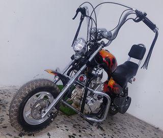 Mini Moto Pocket Bike Harley Davidson 49cc