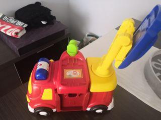 Tuc bólidos camion de bomberos