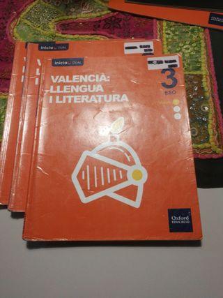 libro valencia 3 eso oxford
