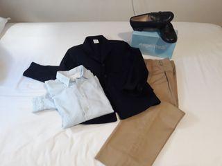 Traje de Comunión y zapatos