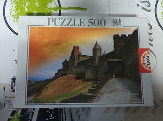 Puzzle Carcasona Francia