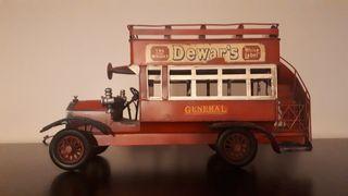 Autobus londinense antiguo