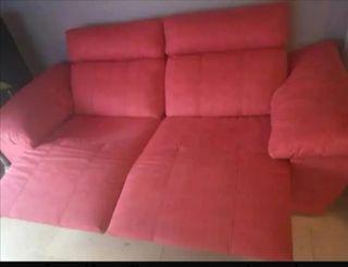 sofa 3 plazas relax diseño motorizado