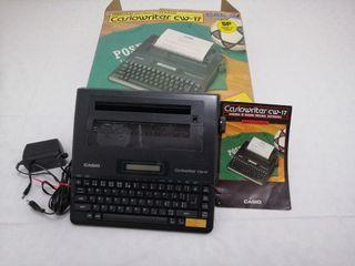 Maquina de escribir Casio