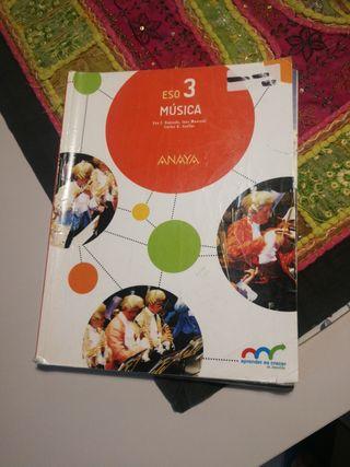 libro de musica 3 eso anaya