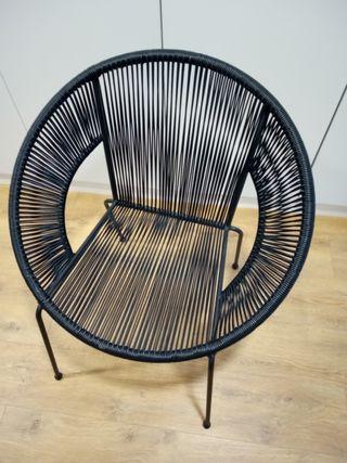 silla estilo acapulco
