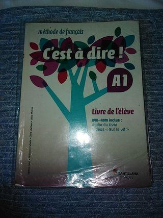 libro de francés 1 de bachillerato