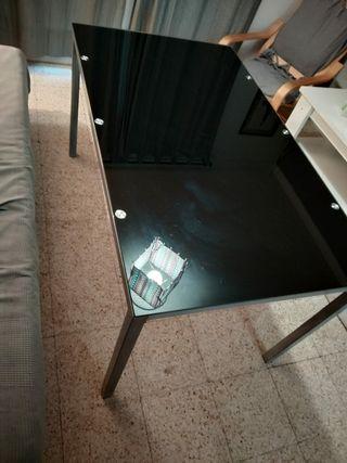 Mesa comedor de cristal 140*70 nueva