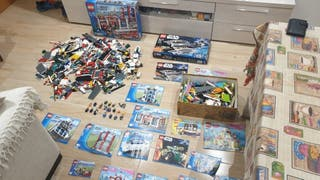lote lego city,Star Wars,disney princesa