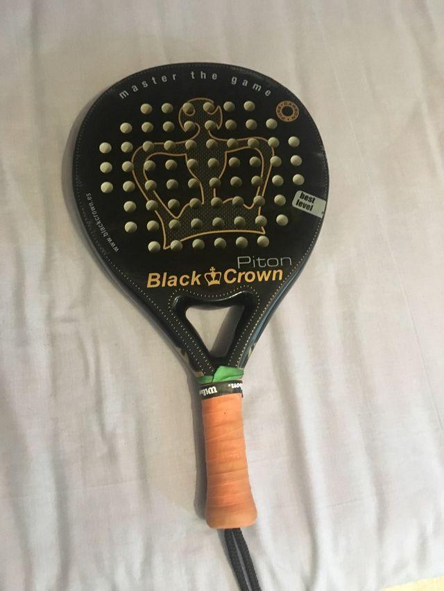 Pala de padel blackcrown