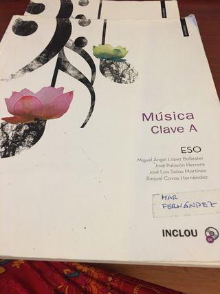 Libro de música de 1 de la ESO