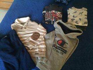 Lote ropa niño talla 5/6 años invierno+regalos