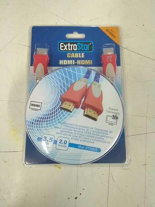 Cable HDMI - HDMI 3.5 metros NUEVO Alta calidad