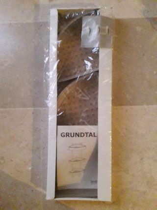 Estanteria GRUNDTAL baño ducha NUEVA