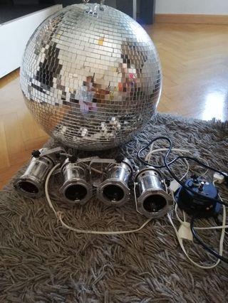 Bola de discoteca gigante
