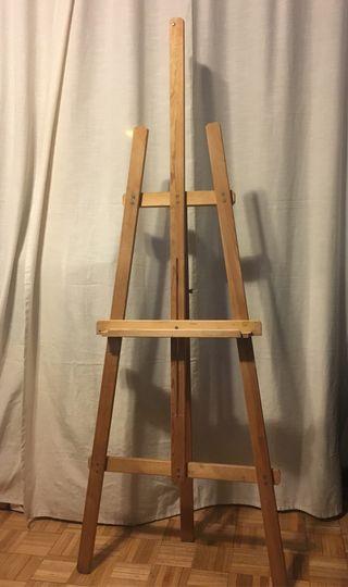 Caballete de madera