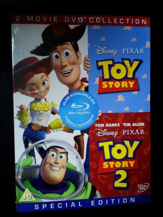 Toy Story 1y2 (Dvd's) Special edition Inglés/Ruso.