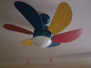 Lámpara/Ventilador de techo